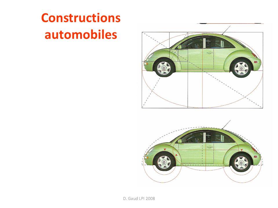 D. Gaud LPI 2008 Constructions automobiles