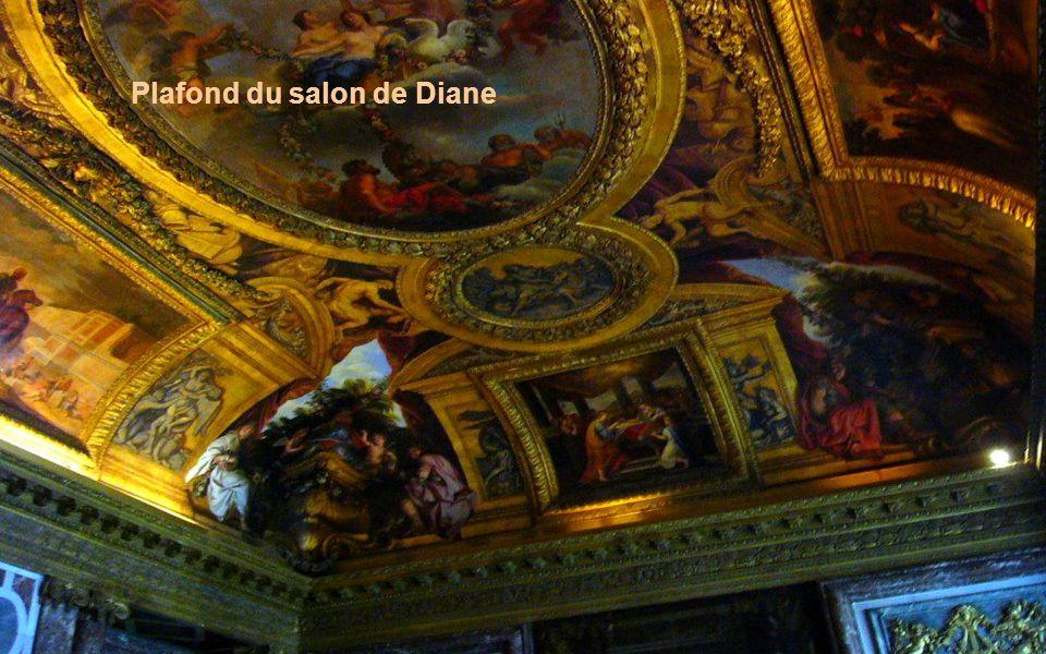 Plafond du salon d Hercule