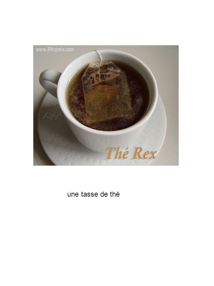une tasse de thé