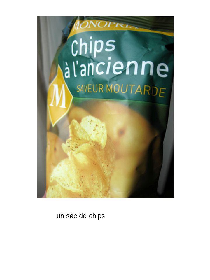un sac de chips