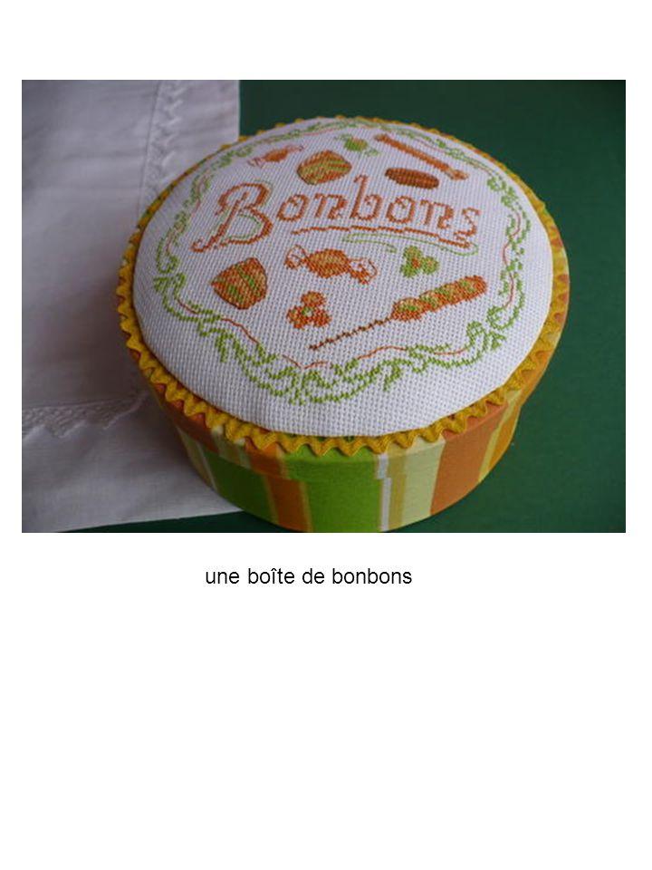 une boîte de bonbons