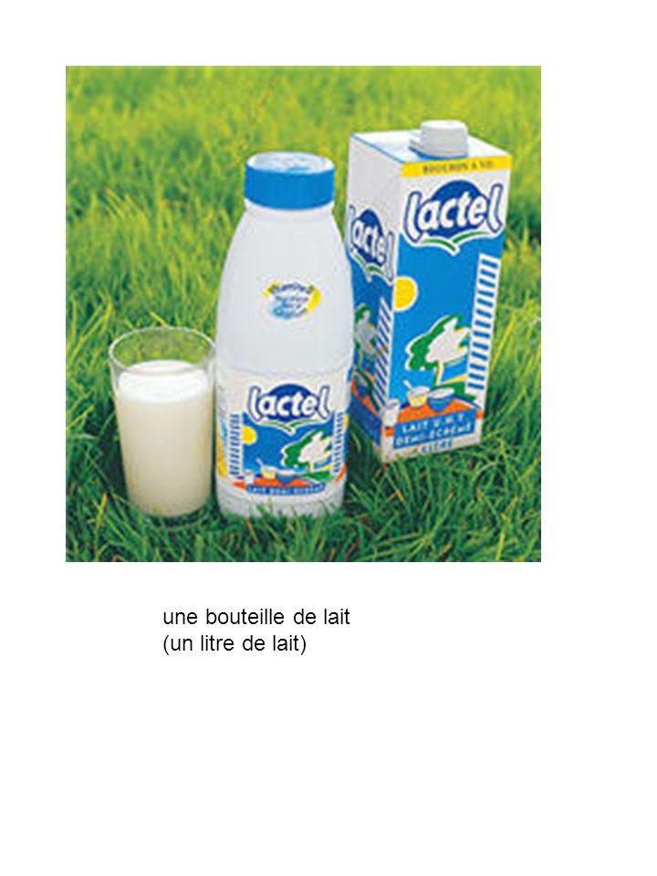 une brique de lait