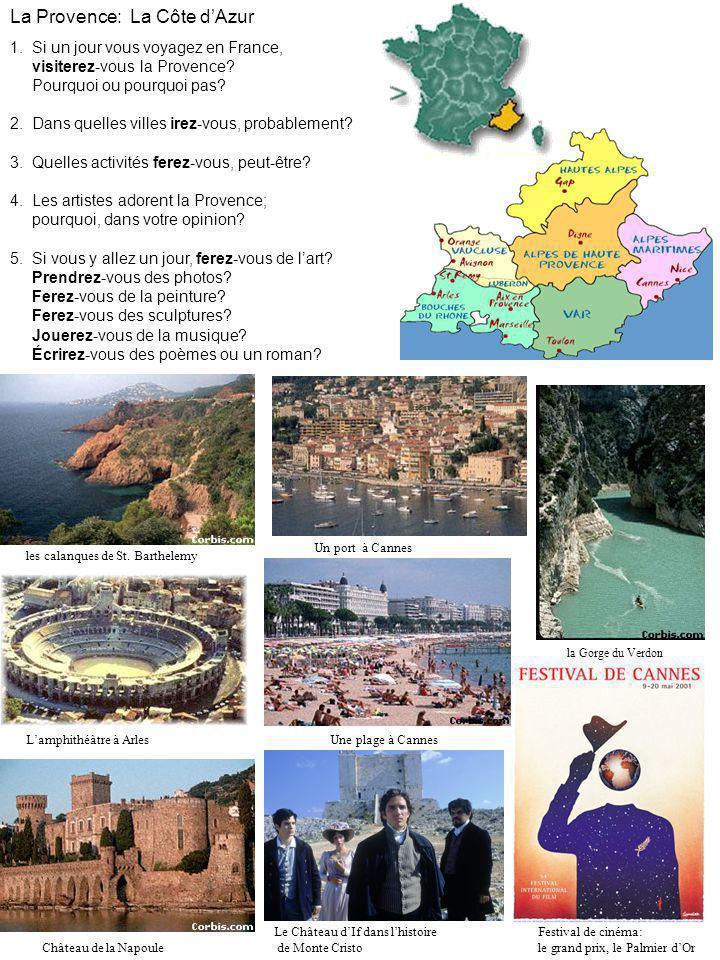 La Provence: La Côte dAzur les calanques de St.
