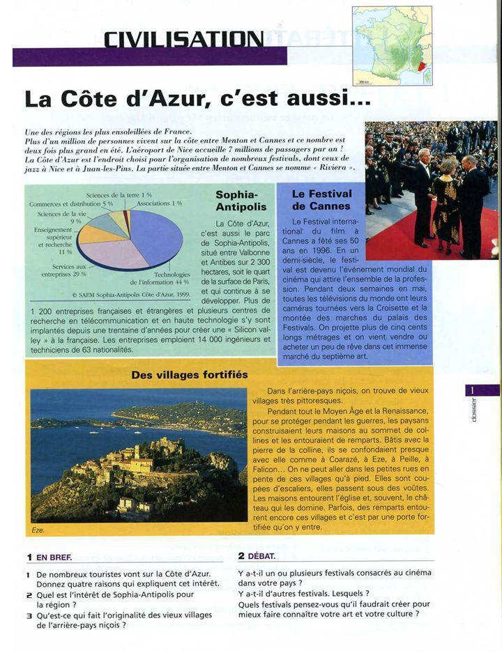 Vous voulez en savoir plus sur la Provence/Côte dAzur.
