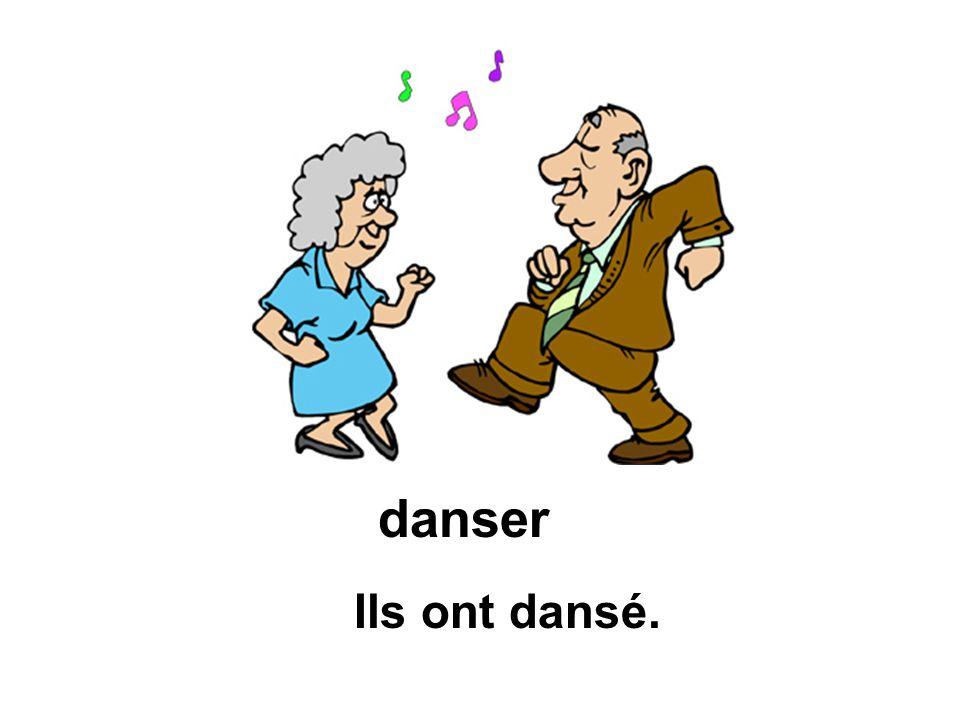 Ils ont dansé. danser