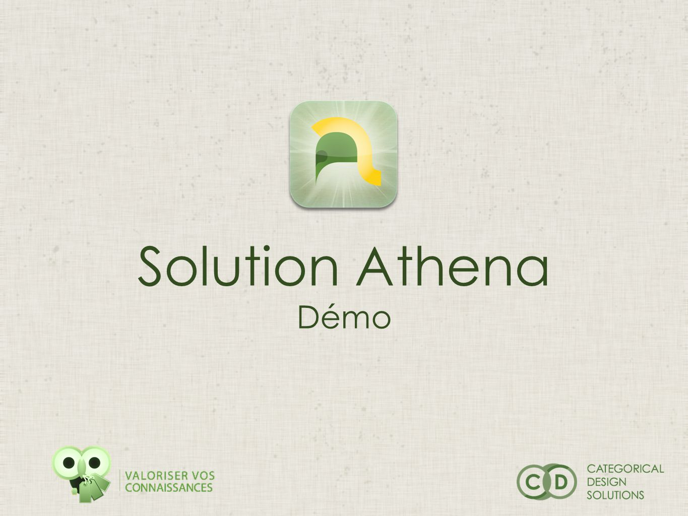 Solution Athena Démo
