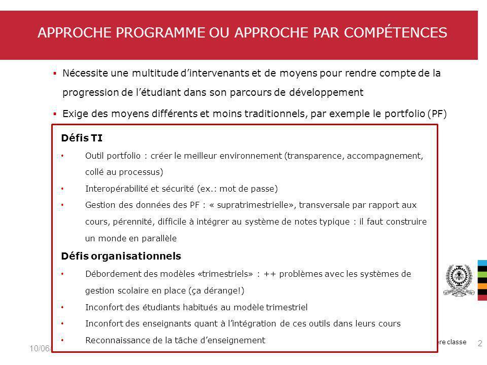 Le génie en première classe Étude sur les modalités dapprentissage et les technologies de linformation et de la communication dans lenseignement (2012) http://www.crepuq.qc.ca/spip.php?article1416&lang=fr Réalisée auprès des enseignants (2 640) et des étudiants (15 020) de premier cycle (12 universités/18)http://www.crepuq.qc.ca/spip.php?article1416&lang=fr Groupe de travail sur létude des usages des technologies de linformation et de la communication, CREPUQ Préférence des étudiants quant aux cours à distance et aux cours en ligne Échelle de 7 points allant de 1 (désaccord total) à 7 (accord total).