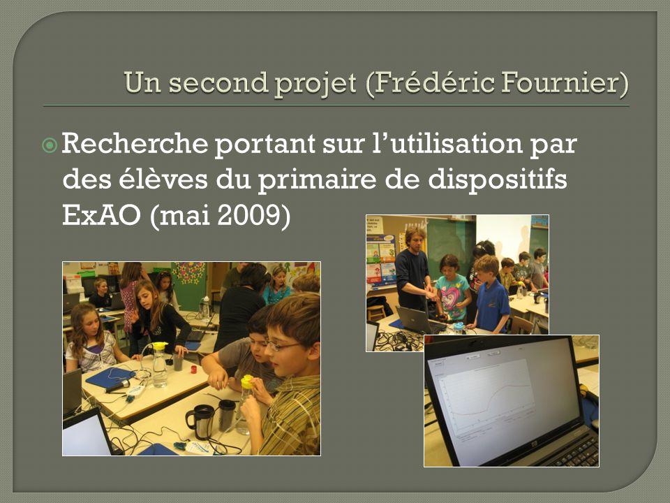 Recherche portant sur lutilisation par des élèves du primaire de dispositifs ExAO (mai 2009)