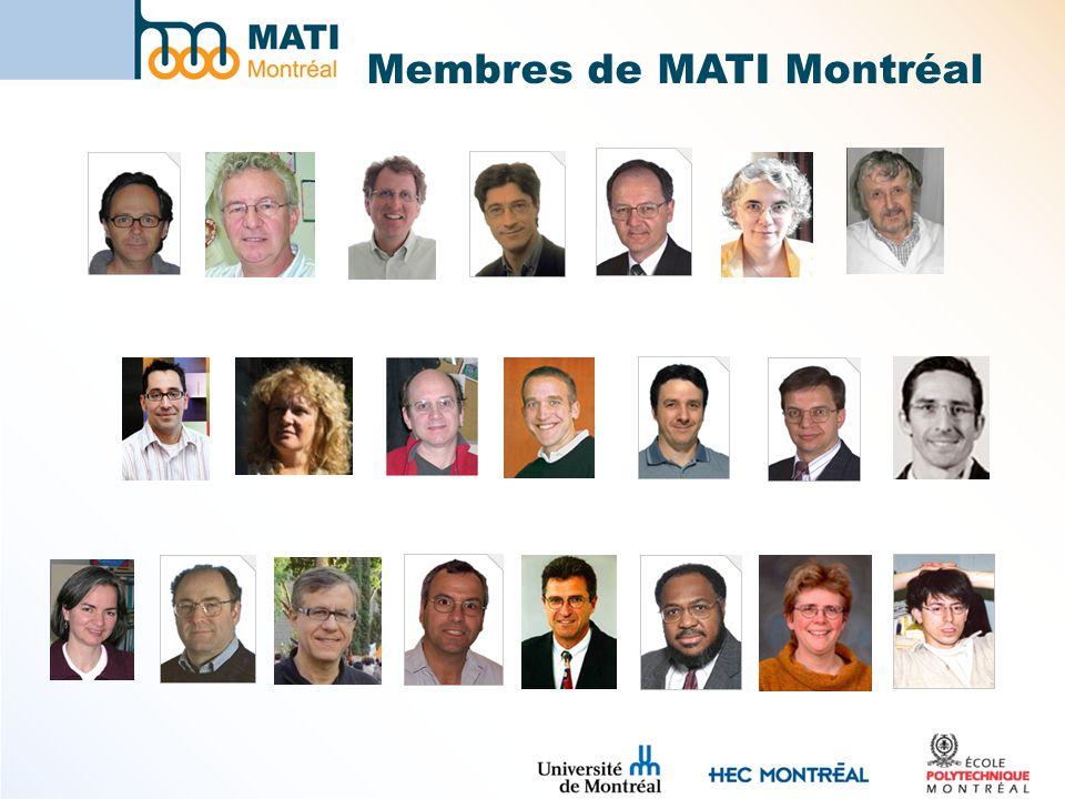 Membres de MATI Montréal