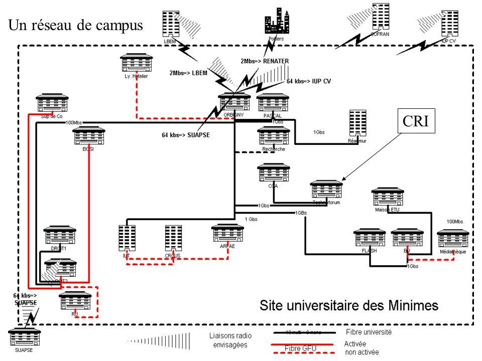 CRI Un réseau de campus