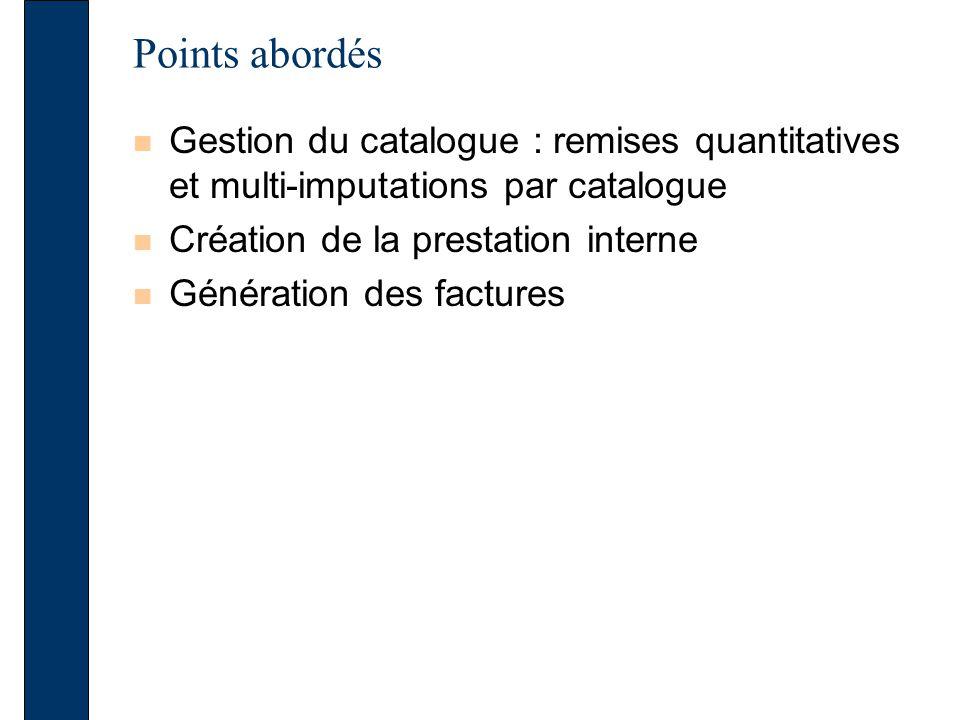 Gestion du catalogue Une remise est affectée à larticle CLCOUVA3R