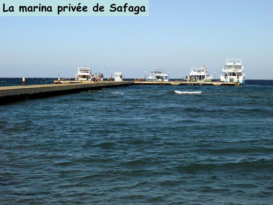 La marina privée de Safaga