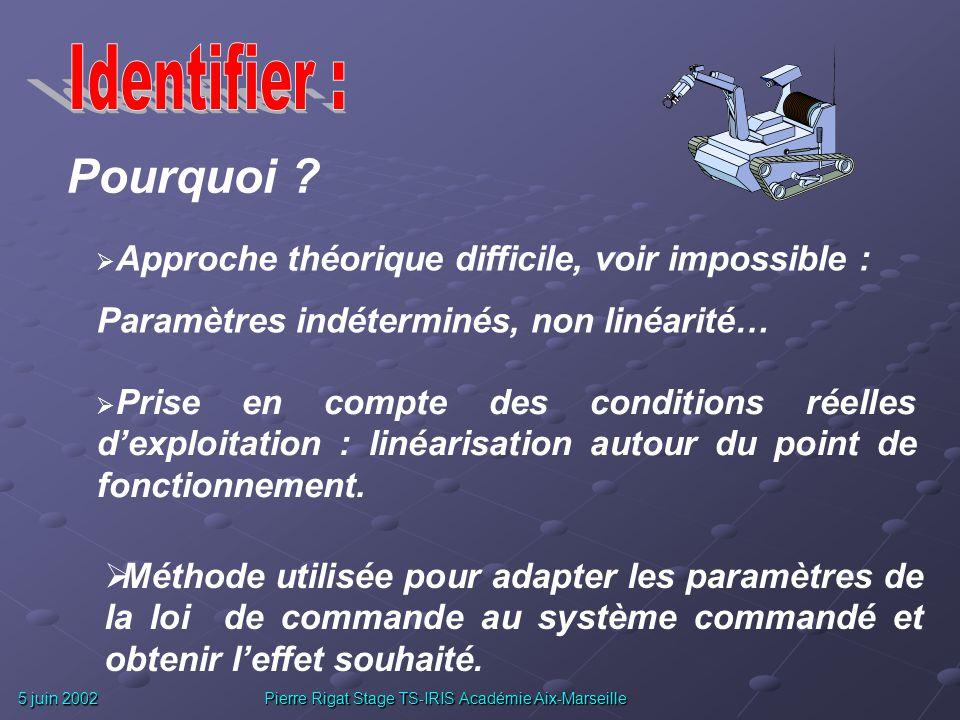 5 juin 2002 Pierre Rigat Stage TS-IRIS Académie Aix-Marseille