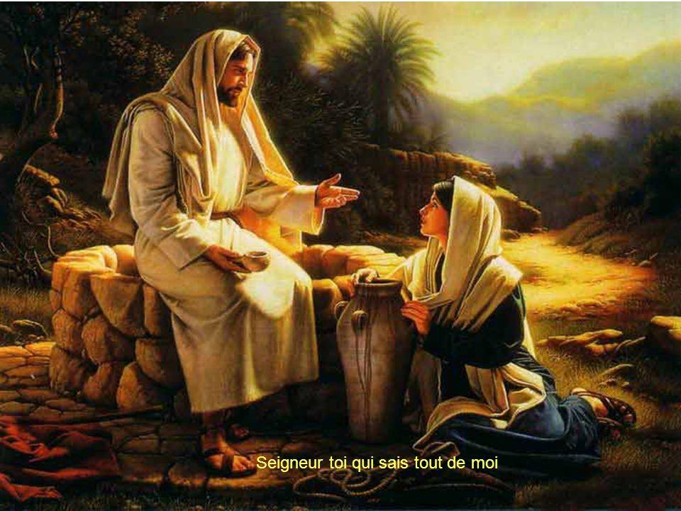Seigneur, Toi qui sais tout de moi Si je mégare ramène moi Et si je tombe, relève moi Je Ten supplie Entend Ma voix