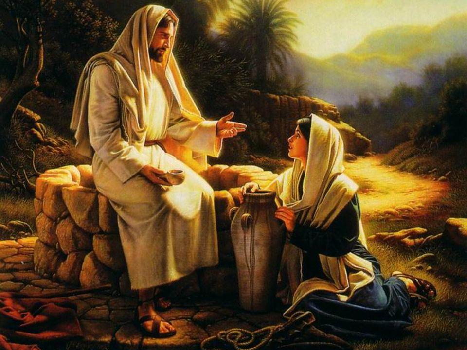 Comme la Samaritaine, tu iras à ton village pour dire à tout le monde: Venez voir:…Amen.