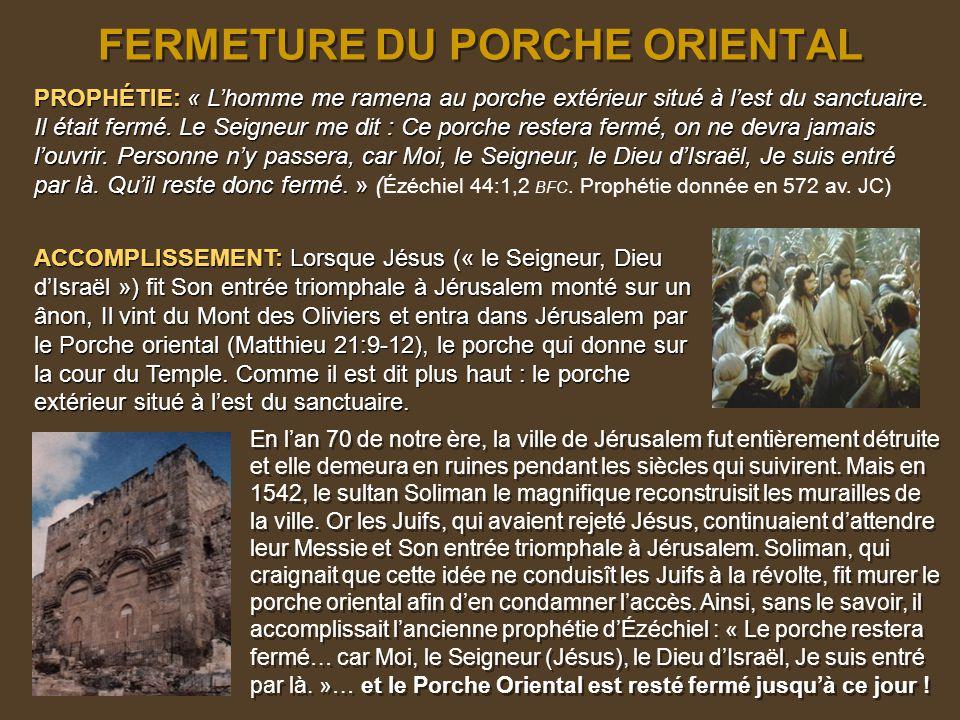LA DESTRUCTION DE JÉRUSALEM APRÈS SA CRUCIFIXION LA DESTRUCTION DE JÉRUSALEM APRÈS SA CRUCIFIXION PROPHÉTIE : À la fin des 62