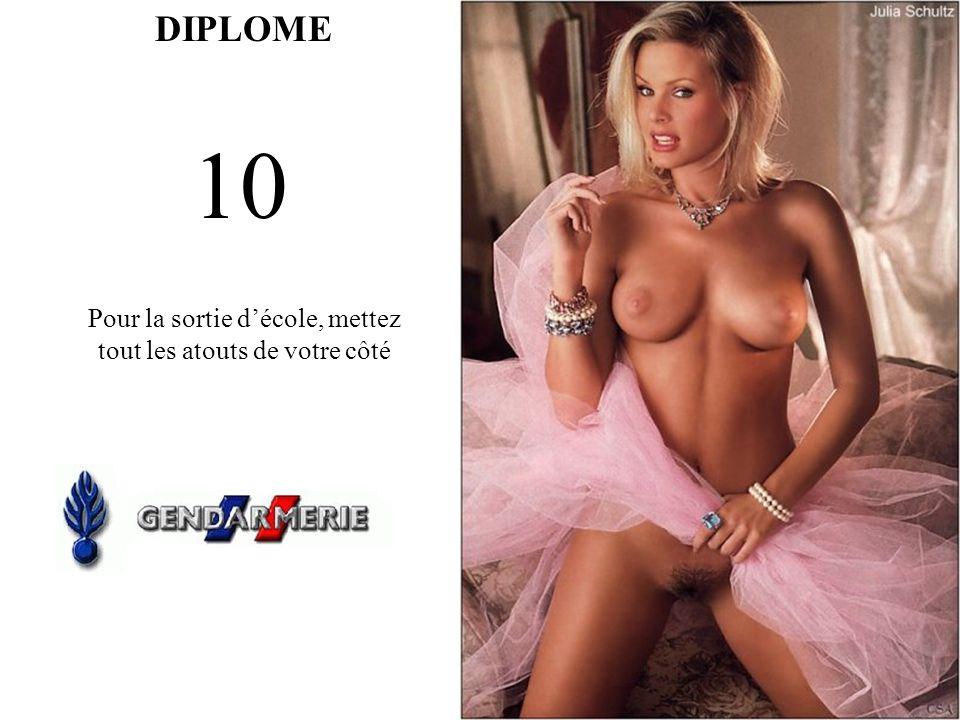 DIPLOME 10 Pour la sortie décole, mettez tout les atouts de votre côté