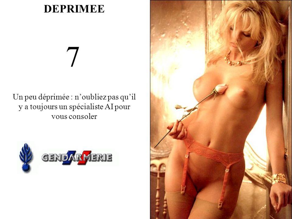 DEPRIMEE 8 Spécialiste AI pas AEB..