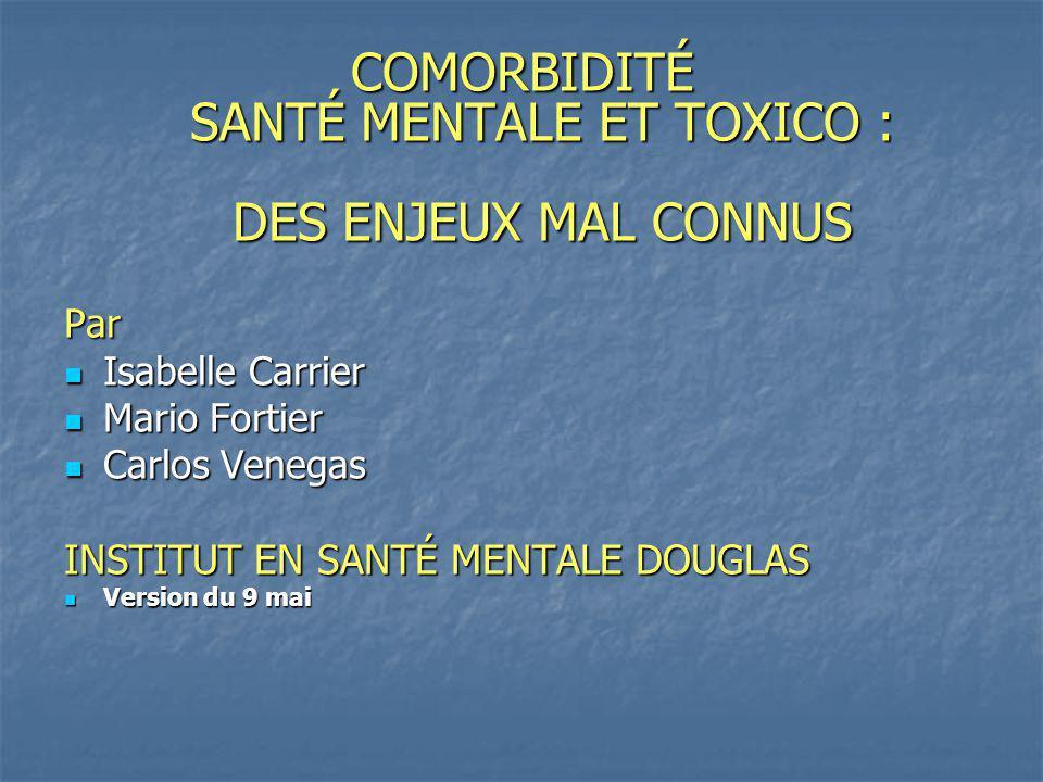 Politique et procédures concernant la consommation, la possession et le trafic des drogues illicites, de lalcool et des produits pharmaceutiques prescrits ou non