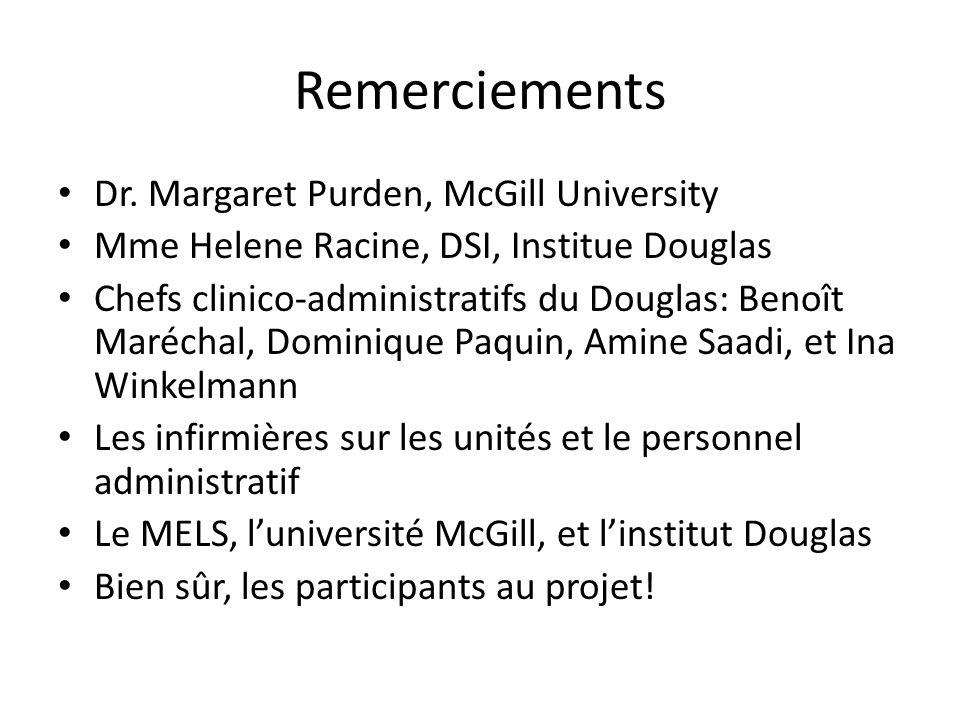 Remerciements Dr.
