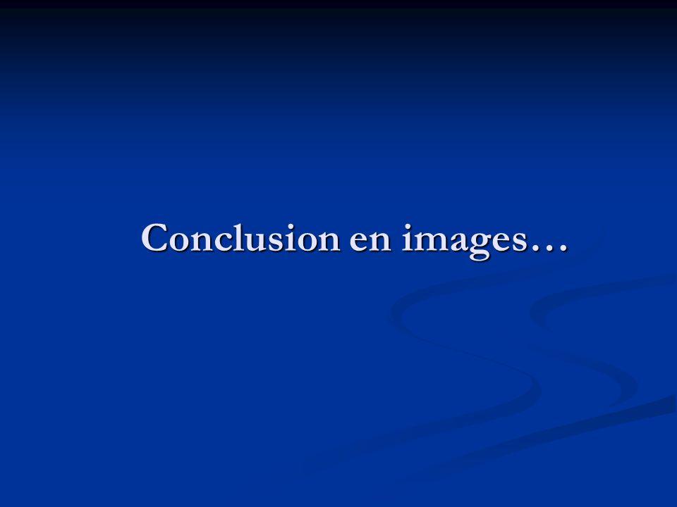 Conclusion en images…
