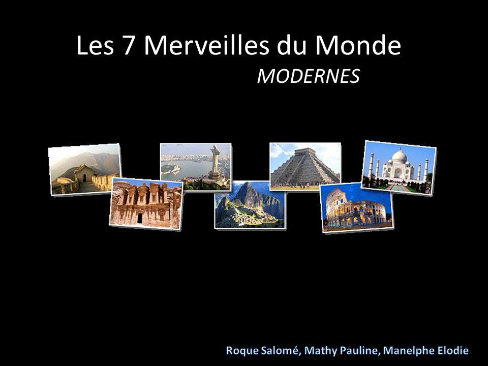 Les 7 Merveilles du Monde MODERNES
