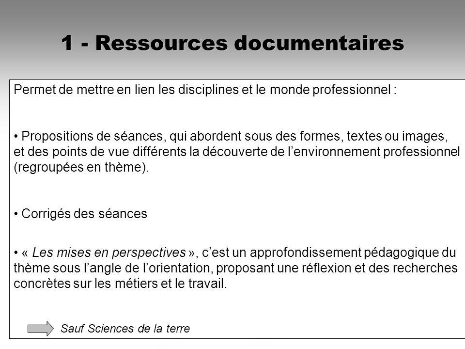 1 - Ressources documentaires Disciplines et découvertes des métiers - ONISEP : Disciplines et découvertes des métiers - ONISEP : Anglais Anglais Franç