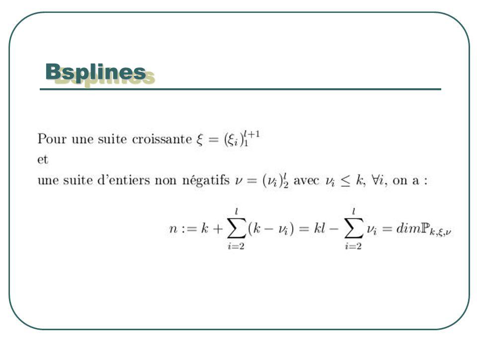 BsplinesBsplines