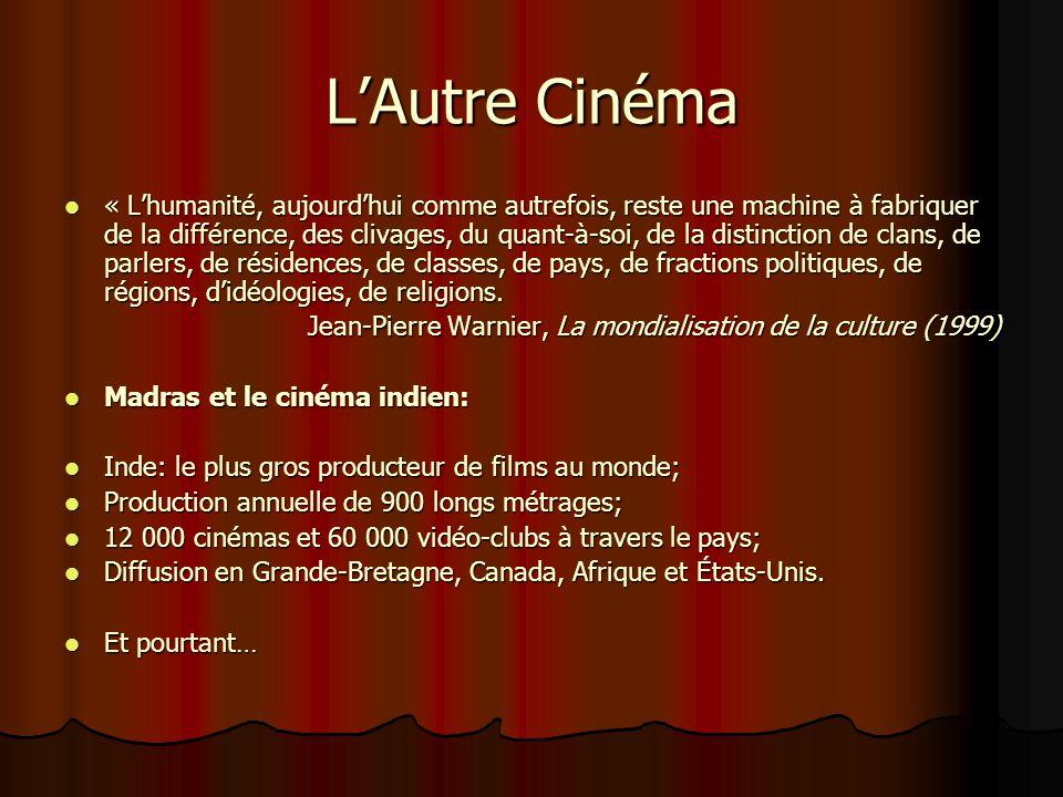 La « dysnéification » de la culture «Cest une chose que de dire quà cause dun problème au chapitre de la distribution, il y a désormais 90% de films a