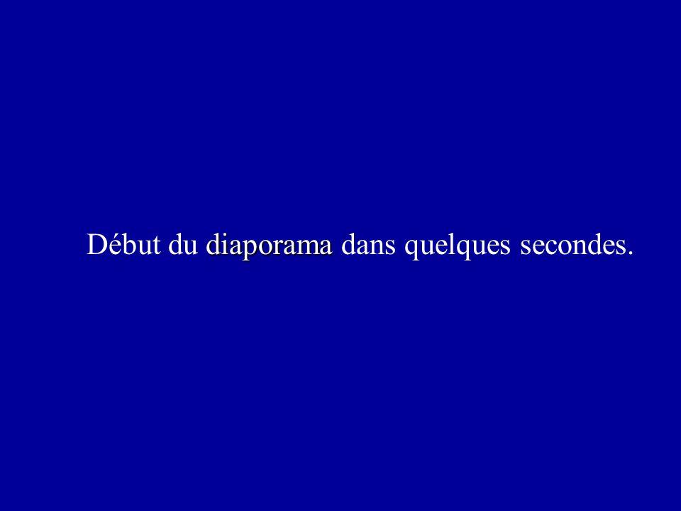 diaporama Début du diaporama dans quelques secondes.