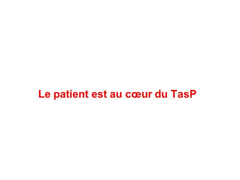 Le patient est au cœur du TasP