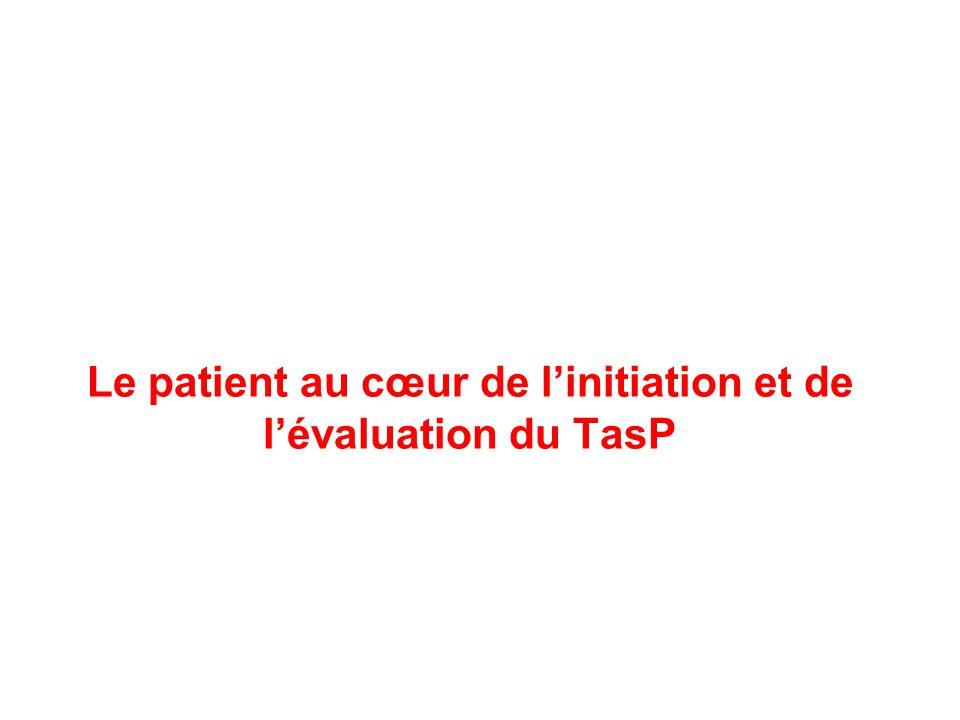 Le patient au cœur de linitiation et de lévaluation du TasP