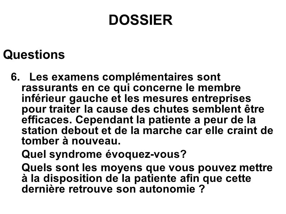 Questions 7.