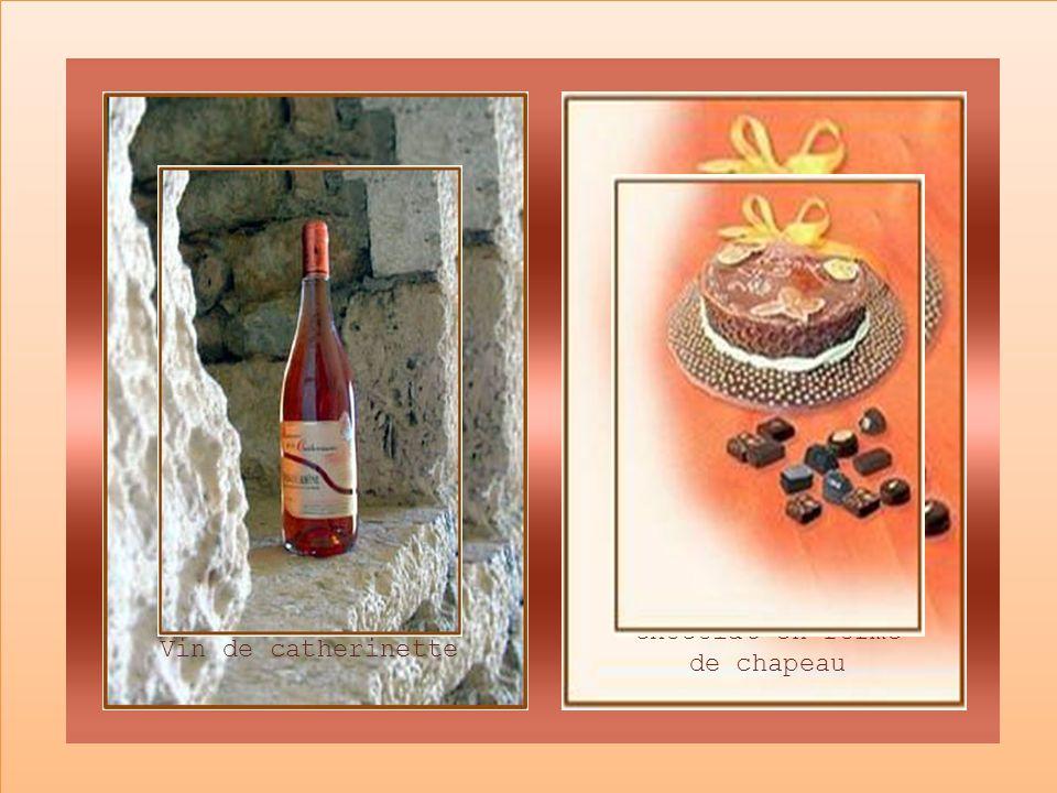 Le jour de la Sainte Catherine, lon préparait toutes sortes de mets spéciaux: des gâteaux en forme de chapeaux, du vin appelé Catherinette sans oublie