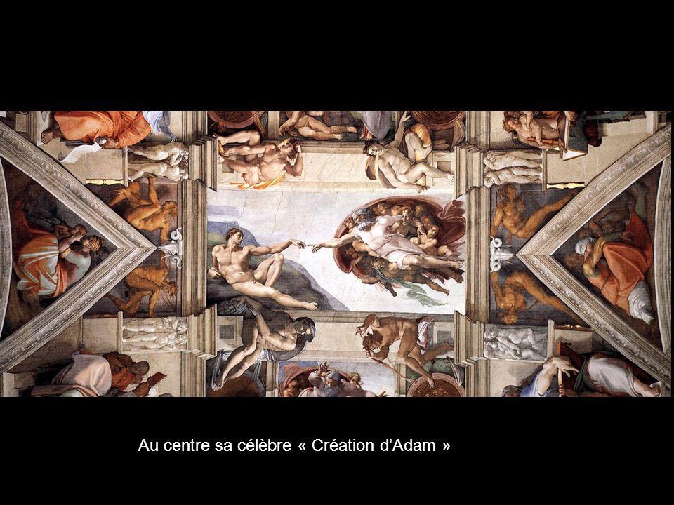 Plafond de la Chapelle Sixtine à Rome, chaque scène mériterait une étude