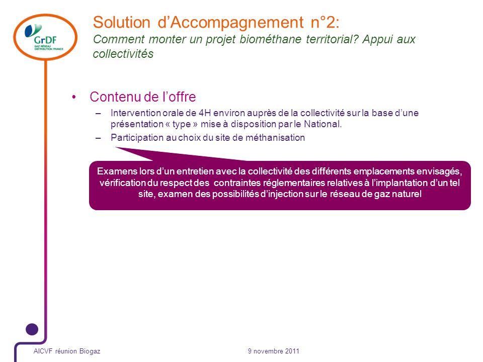 Plusieurs scénarios dinjection (3/3) Période dinterruption janv avriloctobredécembre 9 novembre 2011
