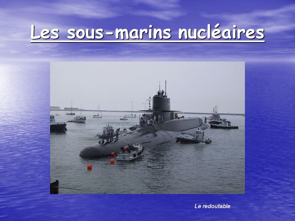 Les sous-marins nucléaires Le redoutable