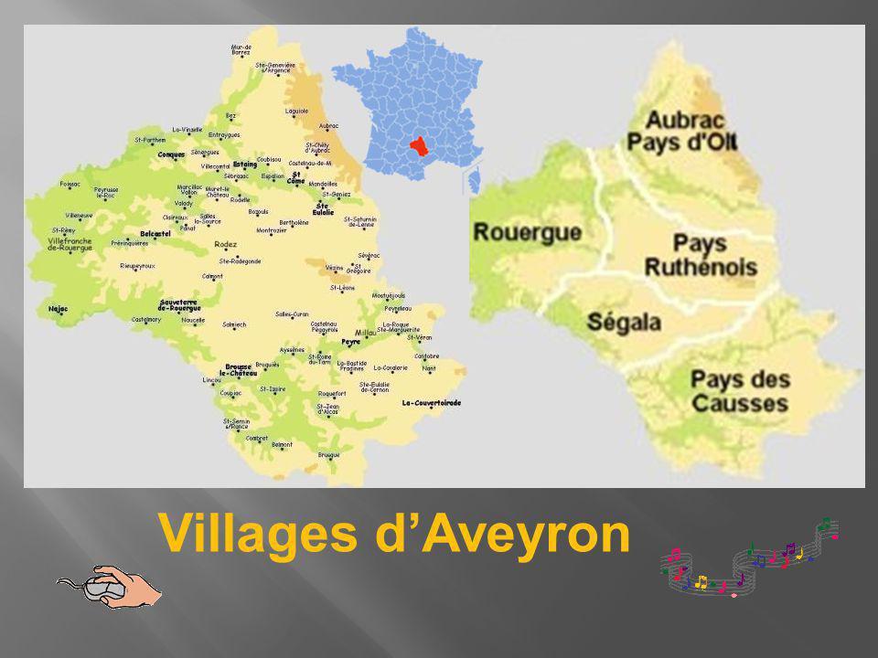 Le village se situe face aux monts du Cantal et sur les contreforts de l Aubrac.