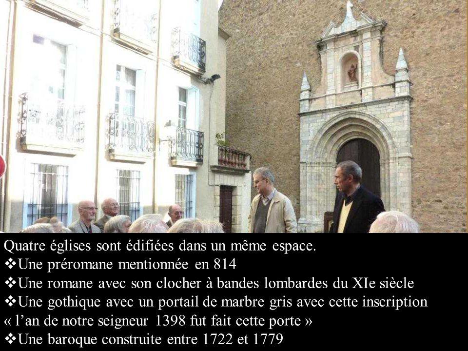 Il est gravé : « Llaurens Cros, fill dIlla ermita de Sant Ferriol, estat 44 anys esclau a Constantinople, 1705 » ce qui signifie : « Laurent Cros, natif dIlle, ermite de St Ferréol, a été 44 ans esclave à Constantinople »