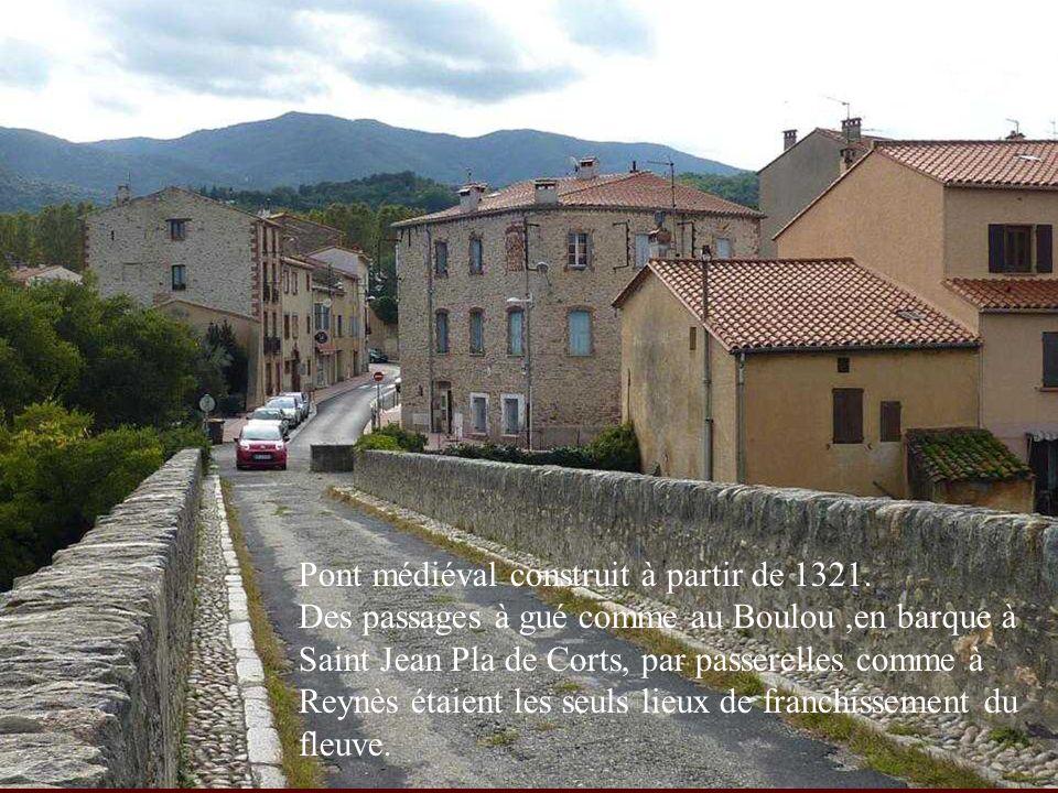 Pont médiéval construit à partir de 1321.
