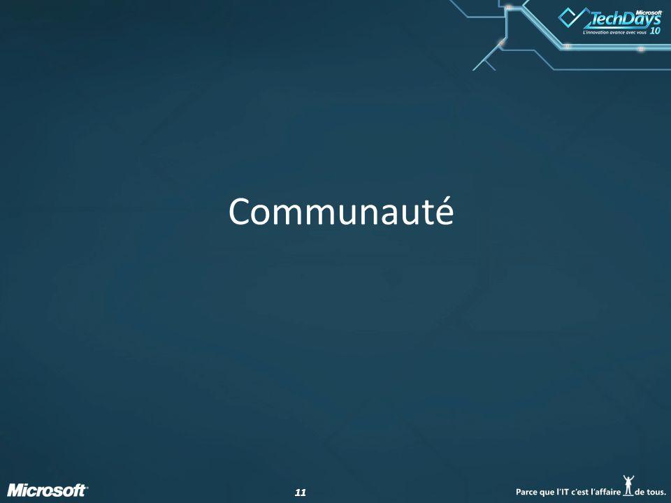 11 Communauté