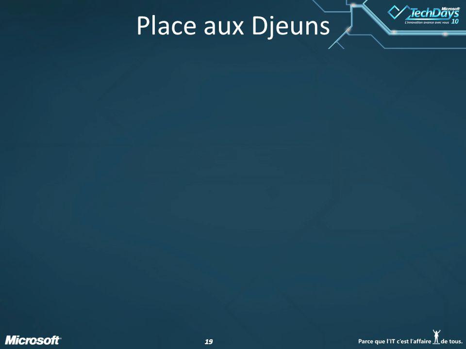 19 Place aux Djeuns