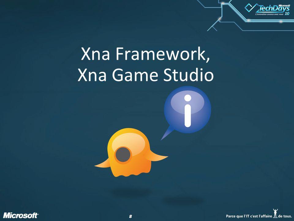 88 Xna Framework, Xna Game Studio