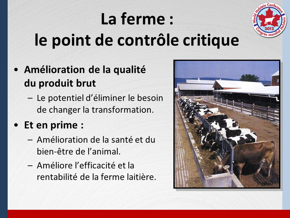Le TAFS recommande un contrôle pour le MAP aux niveaux de la ferme, du pays et de la planète dans le but de limiter la contamination des aliments par le MAP, en se basant sur un principe de précaution qui veut quon sapprovisionne en lait cru et en viande à partir de troupeaux testés négatifs.