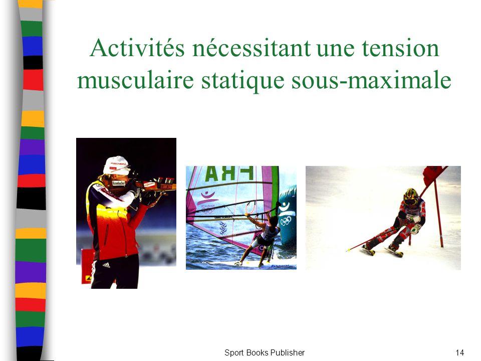 Sport Books Publisher14 Activités nécessitant une tension musculaire statique sous-maximale