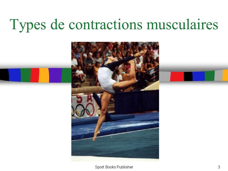 Sport Books Publisher3 Types de contractions musculaires