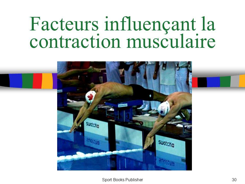 Sport Books Publisher30 Facteurs influençant la contraction musculaire