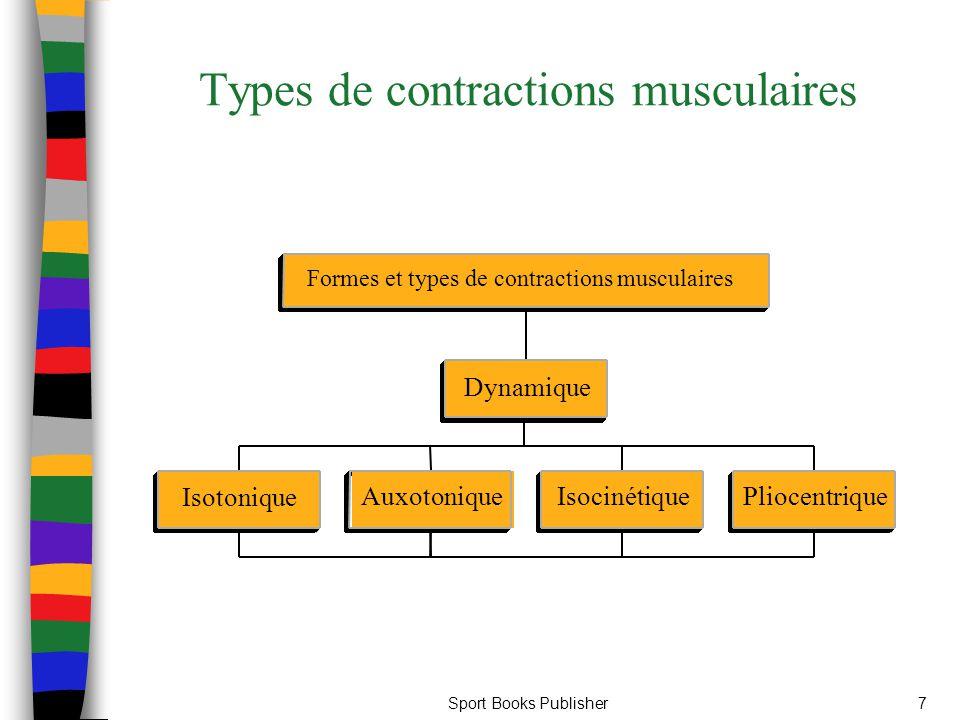 Sport Books Publisher7 Types de contractions musculaires