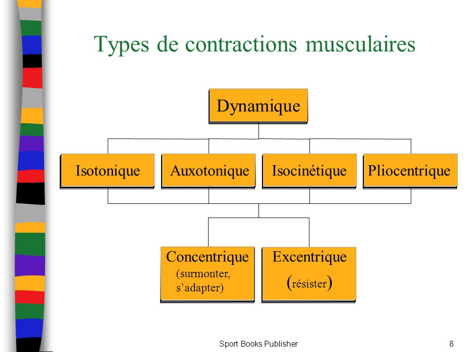 Sport Books Publisher8 Types de contractions musculaires