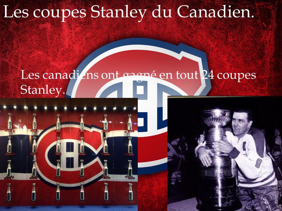 Léquipe du Canadien a été fondée en 1909.La fondation de équipe.